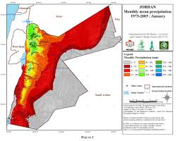 Climate Map Jordan Climate Maps Current Climate Icarda International