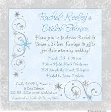 bridal shower invite wording winter snowflake bridal shower invitation event wording