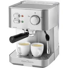 espresso maker espresso maker profi cook pc es 1109 stainless steel black 1050