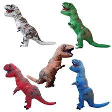 Dinosaur Halloween Costume Oisk Inflatable Dinosaur Rex Costume Blow Walking