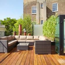 london balcony privacy screen deck contemporary with rattan patio