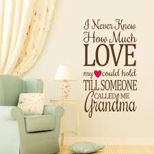 i never knew much love quote wall decals quotes wall stickers