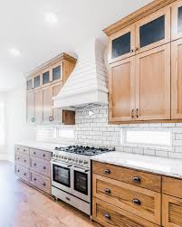 farmhouse style kitchen with oak cabinets gorgeous modern farmhouse style kitchen with custom stained