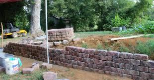 retaining wall drainage 207ufc