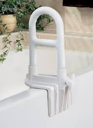 guardian signature white adjustable bathtub grab bar
