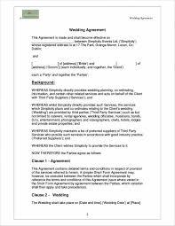 wedding planner contracts sle wedding coordinator contract endo re enhance dental co