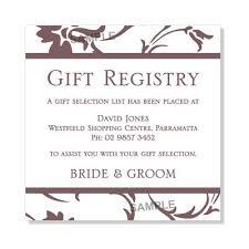 wedding gift no registry gift registry wording for wedding invitations wedding invitation