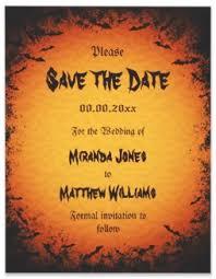save the date announcements spooky bats wedding save the date announcements