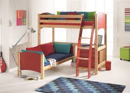 Futon Bunk Bed Plans Free by Bunk Beds Corner Bunk Bed Plans Free L Shaped Loft Bed With