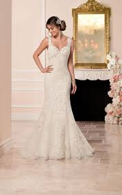 fit and flare wedding dress lace fit and flare wedding dress stella york