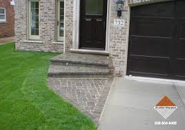 front entries stone walkways d m outdoor living spaces