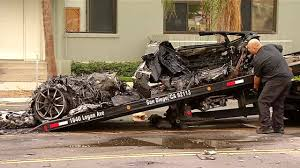 fatal lamborghini crash nbc 7 san diego authorities cleaned up the mangled