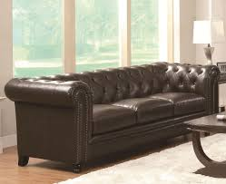 Ashley Furniture Tufted Sofa by Coaster Outlet Stores In Chicago For Cheap Leather Like Sofa