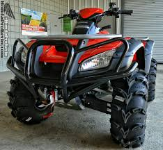 mudding tires honda rincon 680 atv itp mud lite tires u0026 ss wheels bumper