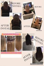 la hair extensions 129 200 grams 18 braided la weave hair extensions incl install