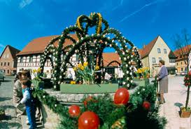 german easter decorations black forest germany european traveler