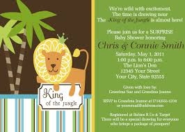 baby shower invitations king of the jungle il 570xn 328340481