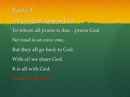 living in praise and thanksgiving ppt