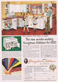 youngstown kitchen cabinets youngstown cabinets 1950 vintage slide show pinterest