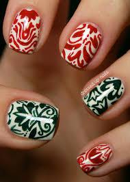 26 nail art christmas designs merry christmas nail art designs