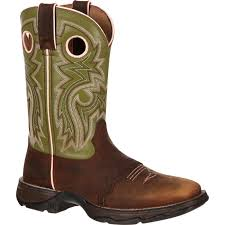 womens boots green rebel by durango s green brown saddle boots