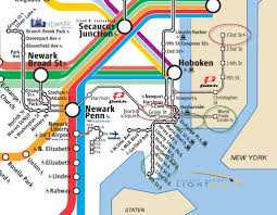 Amtrak Map East Coast by Best Way To Get To Cape Liberty From Manhattan Cruise Critic