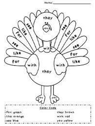 196 best thanksgiving worksheets printables images on