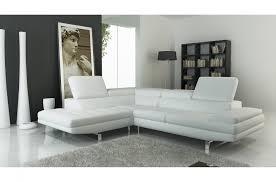 canapé d angle blanc cuir canapé d angle en cuir italien 6 places birkin blanc mobilier privé