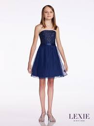size 16 navy blue lexie by mon cheri tw11673 middle school dress