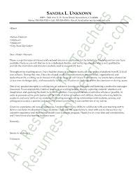 ideas of teacher cover letter ontario examples about form resume