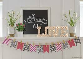 Valentine Decorations For The Home by Valentine U0027s Day Vignettes