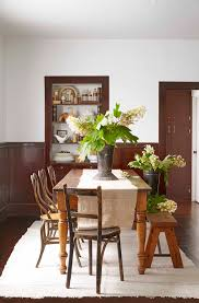 Best Dining Room Paint Colors by Natural Varnished Pine Wood Dining Table Room Paint Color Full