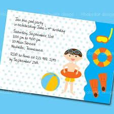 pool party invitation wording masterly tips to write attractive