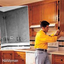 Updating Existing Kitchen Cabinets How To Refresh Kitchen Cabinets Family Handyman