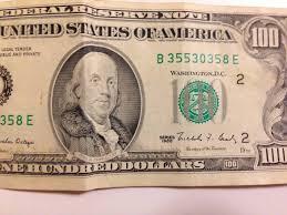 usa converting united states dollar bills travel stack