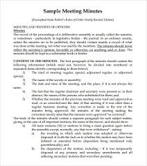 meeting minutes templates 7 free meeting minutes templates excel pdf formats