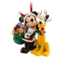 santa mickey cinderella castle ornament ornaments disney
