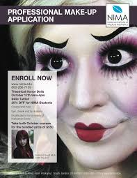 makeup classes utah 59 best nima advanced courses images on