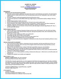 Resume Sample Electronics Technician by How To Make Cable Technician Resume That Is Really Perfect