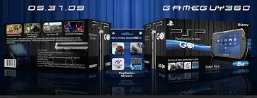 viewing full size psp go value pack box cover