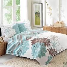 Blue Quilted Coverlet Park Lola Quilted Coverlet Blue