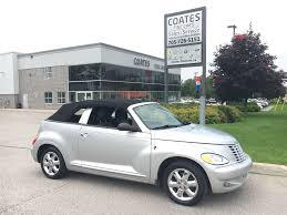 used 2005 chrysler pt cruiser for sale barrie on