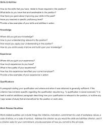how to address selection criteria in cover letter examples 11128