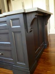 gray stained oak kitchen cabinets home design ideas