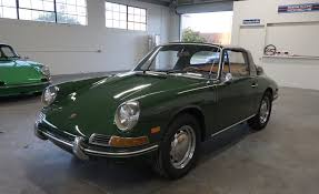 irish green porsche 1968 porsche 912 soft window targa lti cars