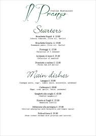 menu templates for weddings 26 catering menu templates free sle exle format