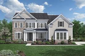 Impressive Design 7 Colonial Farmhouse Trotters Glen The Weatherstone Home Design