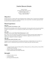 Resume Sles For Cashier Exles Of Cashier Resumes Grocery Store Cashier Resume 7