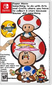 Mario Memes - paper mario v leaked box art papermario