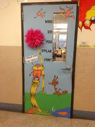 elementary library ideas lorax elementary library door 2013